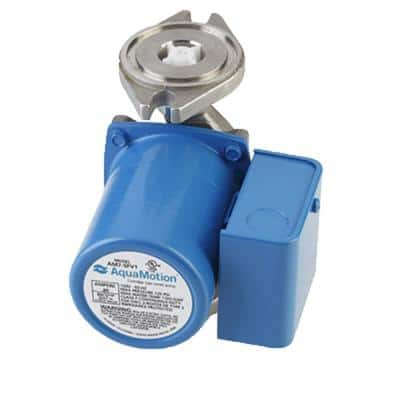 2-Bolt Flange Stainless Circulator with Built-In Check Valve