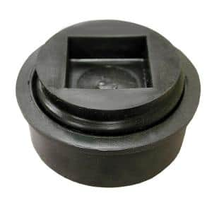3 in. Size x 0.99 in. Height HDPE (Plastic) Combination Test Plug with Countersunk Head for Schedule 40 DWV Pipe