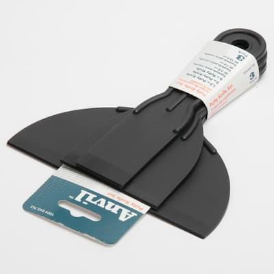 Plastic Putty Knife Set