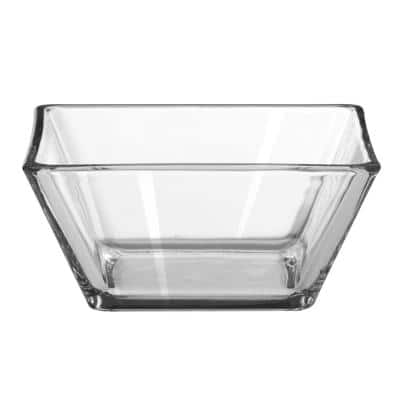 Tempo 5.5 in.12-Piece Clear Glass Bowl Set