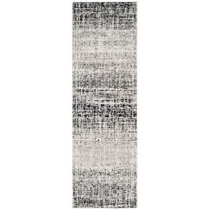 Adirondack Ivory/Silver 3 ft. x 6 ft. Runner Rug