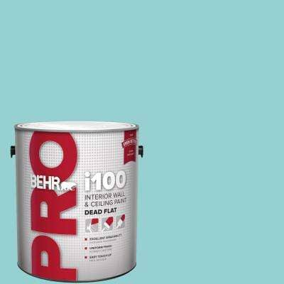 Behr Pro 1 Gal M460 3 Big Surf Dead Flat Interior Paint Pr10501 The Home Depot