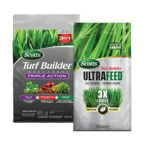 Turf Builder 30 lbs. 4000 sq. ft. Southern Dry Lawn Fertilizer (2-Bag)