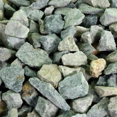 0.25 cu. ft. 3/4 in. Seafoam Green Bagged Landscape Rock and Pebble for Gardening, Landscaping, Driveways and Walkways