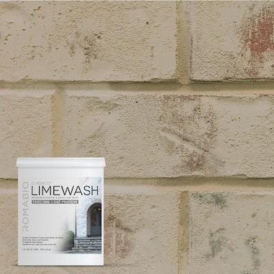 1 qt. Toscana Beige Limewash Interior/Exterior Paint