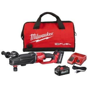 M18 FUEL 18-Volt Lithium-Ion Brushless Cordless GEN 2 SUPER HAWG 7/16 in. Right Angle Drill QUIK-LOK Kit