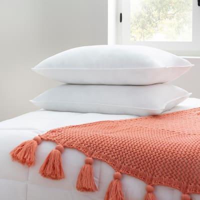 Plush Standard Bed Pillow (2-Pack)