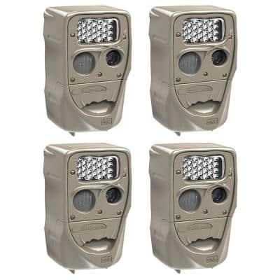 Power House 20 MP Super Simple Setup Silver Flash Trail Camera (4-Pack)