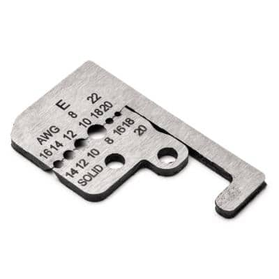 8 AWG to 22 AWG Wire Stripper Blades