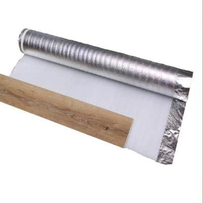 200 sq. ft. 2 mm x 3.6 ft. x 55.5 ft. Sliver Underlayment for Laminate Floor and Engineered Floor