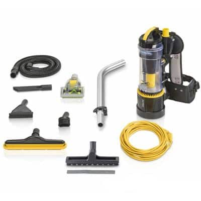 2.0 Pro Commercial Bagless Backpack Vacuum Cleaner with 1-1/2 in. Attachment Kit and Telescopic Wand