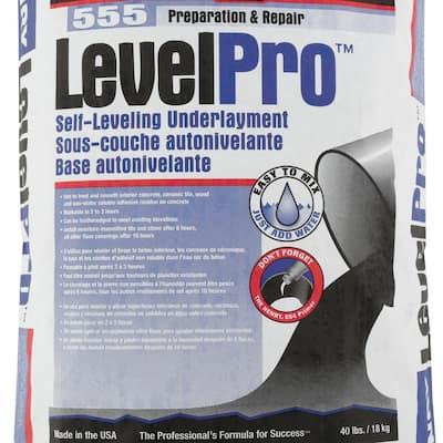 555 Level Pro 40 lb. Self-Leveling Underlayment