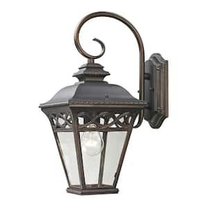 Mendham 1-Light Outdoor Hazelnut Bronze Sconce
