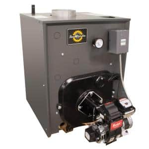 RRO Series 87% AFUE Oil Water Boiler without Coil and 129,000 BTU - 158,000 BTU Output