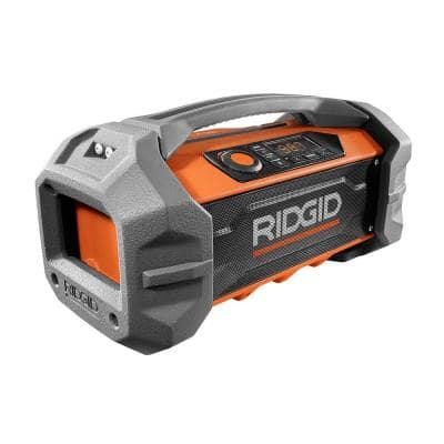 18-Volt Hybrid Jobsite Radio with Bluetooth Wireless Technology (Tool Only)