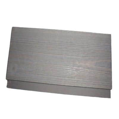 1 in. x 6 in. x 8 ft. Barn Wood Grey Pine Shiplap Board (6-Piece/Box)