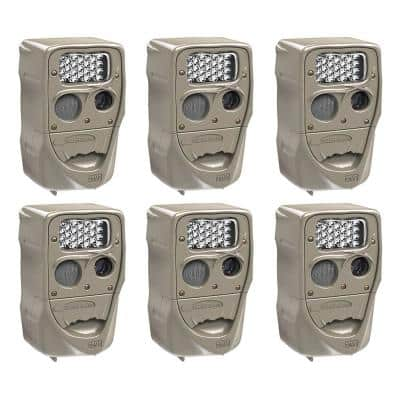 Power House 20 MP Super Simple Setup Silver Flash Trail Camera (6-Pack)