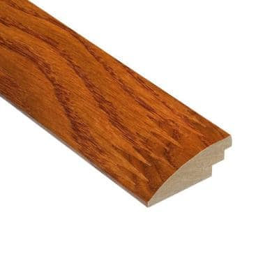 High Gloss Oak Gunstock 1/2 in. Thick x 2 in. Wide x 78 in. Length Hard Surface Reducer Molding