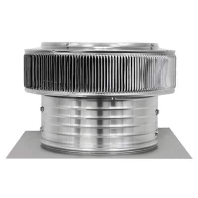 14 in. Dia 1000 CFM Power Mill Aura Attic Fan with 6 in. Collar