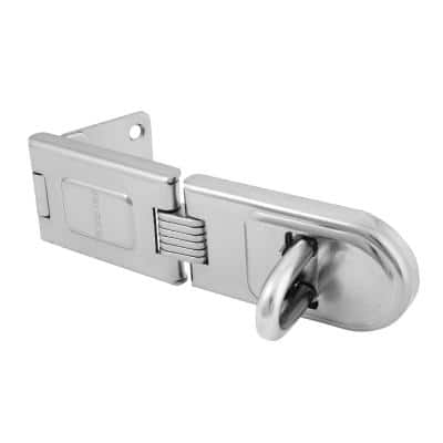 6-1/4 in. Single Hinge Hasp Lock