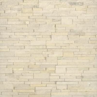 Salvador Beige Ledger Panel 6 in. x 24 in. Natural Sandstone Wall Tile (24 cases / 192 sq. ft. / pallet)