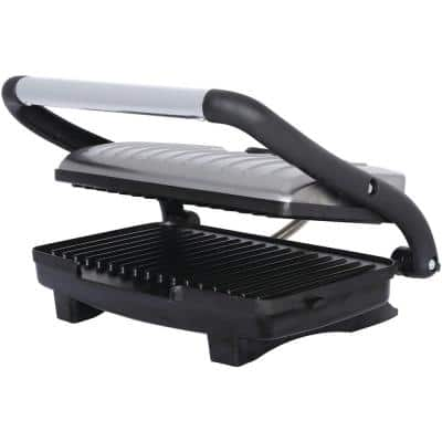 1,000-Watt Metallic Panini Press