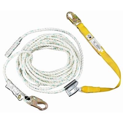 50 ft. Rope Lifeline with Lanyard