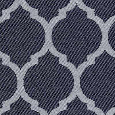 Woodbury CushionGuard Midnight Trellis Patio Dining Chair Slipcover Set (2-Pack)