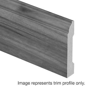 Claddon Oak 9/16 in. T x 3-1/4 in. Wide x 94 in. Length Laminate Base Molding
