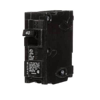 40 Amp Single-Pole Type QP Circuit Breaker