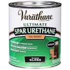 1 qt. Clear Gloss Oil-Based Exterior Spar Urethane (2-Pack)