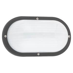 Bayside Small Black Outdoor Bulkhead Light