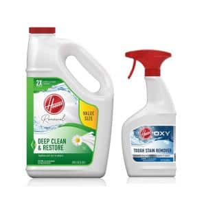 128 oz. Renewal Carpet Cleaner Solution & 22 oz. Oxy Stain Remover Carpet Pretreatment Spray Pack Combo Kit