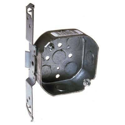 Octagon Electrical Box with Bracket