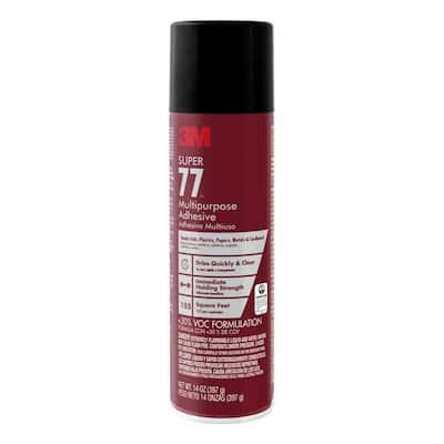 14 oz. Super 77 Multipurpose Low VOC Spray Adhesive (Case of 12)