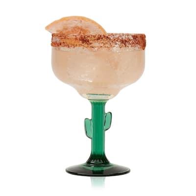 4-Piece Cactus Margarita Glass Set