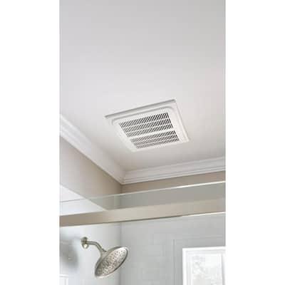 140 CFM Ceiling Humidity Sensing Bathroom Exhaust Fan, ENERGY STAR