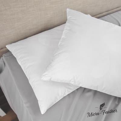 Hypoallergenic Duck Down Jumbo Pillow (Set of 2)