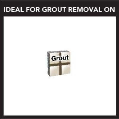 Universal Dual Interface 1/16 in. Grout Removal Oscillating Tool Blade