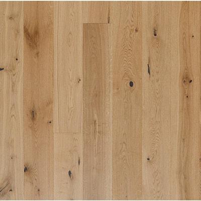 European White Oak Sunrise 3/4 in. Thick x 7 in. Wide x Varying Length Engineered Hardwood Flooring (20.65 sq. ft./case)
