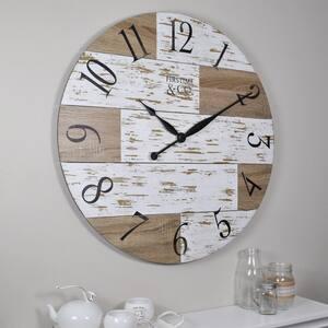 27 in. Harper Pallets Wall Clock