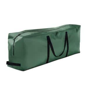 Green Tear Proof Artificial Tree Storage Bag for Trees Up to 9 ft. Tall