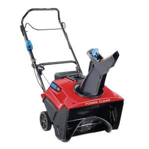 Power Clear 721 QZE 21 in. 212 cc Single-Stage Self Propelled Gas Snow Blower with Electric Start