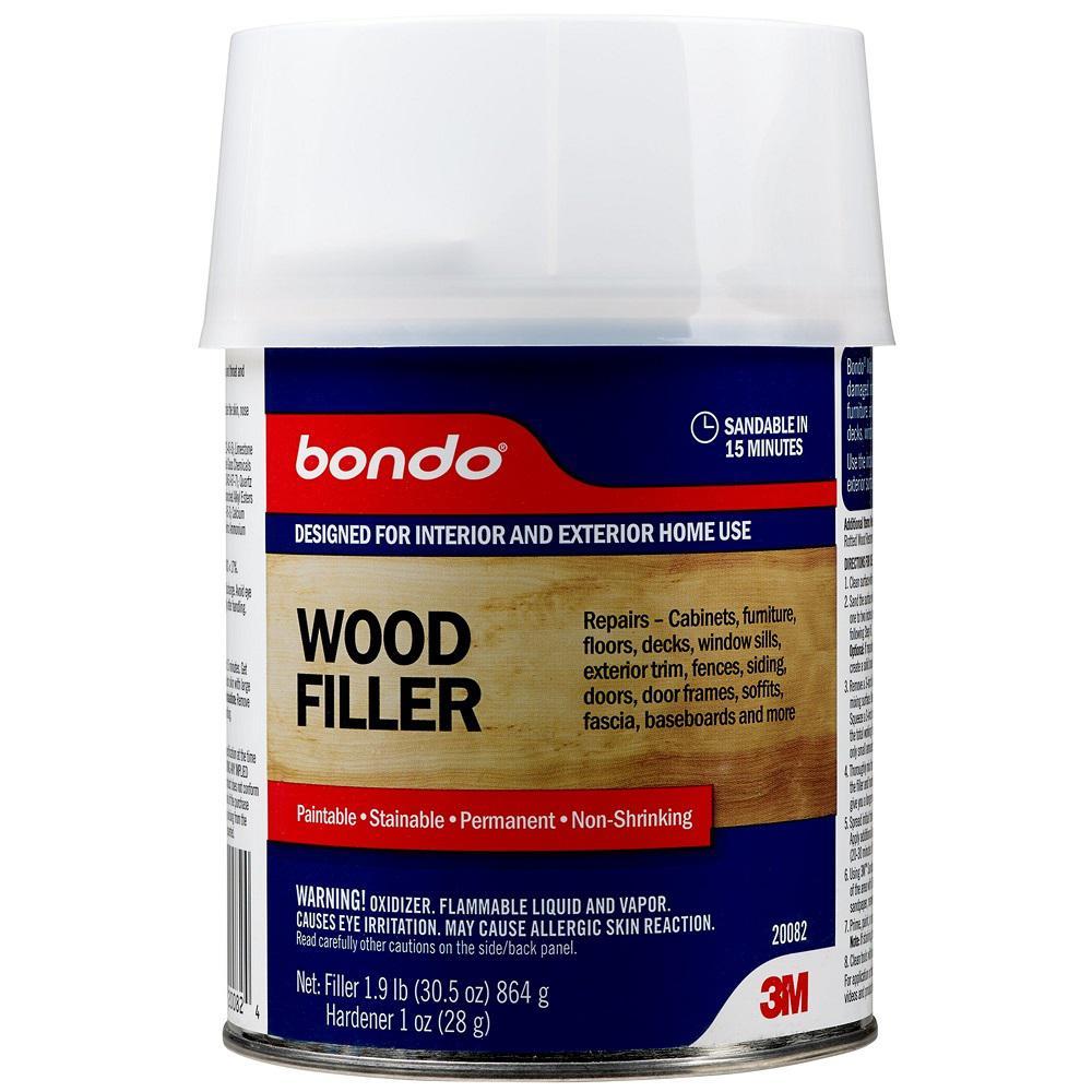 Bondo 12 fl. oz. Wood Filler (Case of 4)