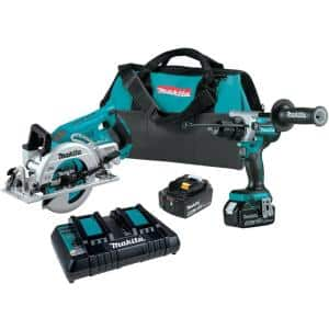 18-Volt 5.0 Ah LXT Lithium-Ion Brushless Cordless 2-Piece Combo Kit (Hammer Drill/Circular Saw)