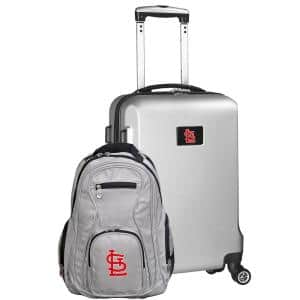 St Louis Cardinals Deluxe 2-Piece Backpack and Carry-On Set