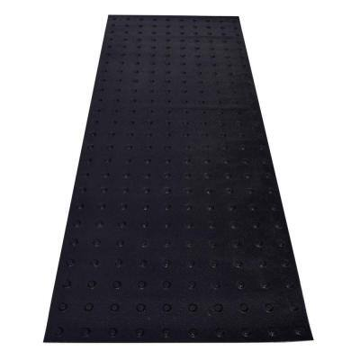 RampUp 24 in. x 5 ft. Black ADA Warning Detectable Tile