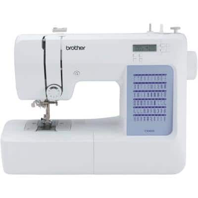 60-Stitch Computerized Sewing Machine with Built-in Accessory Storage