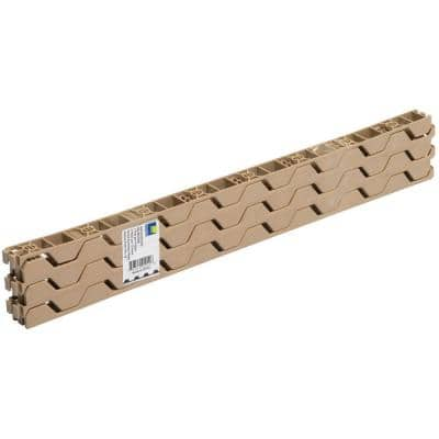 24 in. Horizontal Plastic Closure Strips (6-Pack)