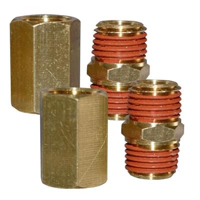 1/4 in. F-F/M-M NPT Coupler Combo Pack
